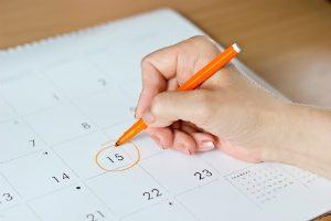 Dental Appointment on Calendar